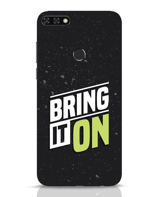 Shop Bring It On Huawei Honor 7C Mobile Cover-Front