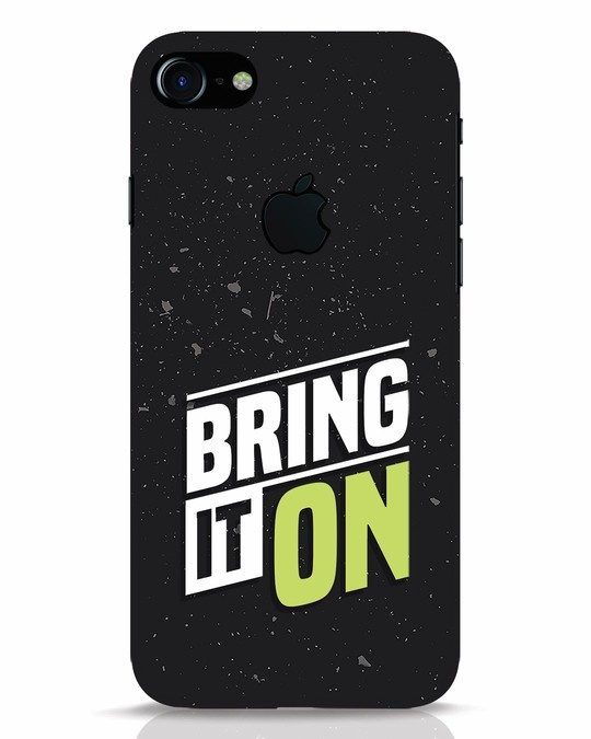 Shop Bring It On iPhone 7 Logo Cut Mobile Cover-Front