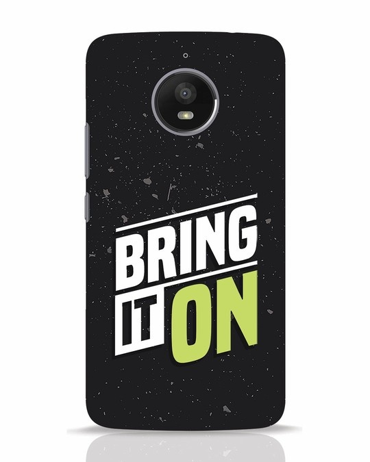 Shop Bring It On Moto E4 Plus Mobile Cover-Front
