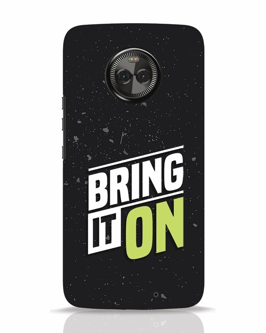 Shop Bring It On Moto X4 Mobile Cover-Front