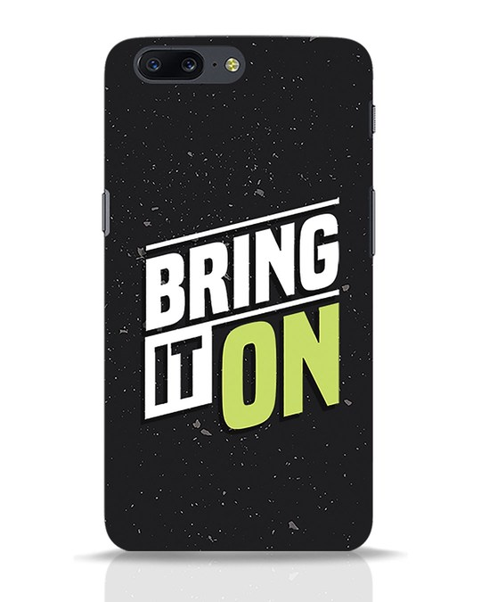 Shop Bring It On OnePlus 5 Mobile Cover-Front