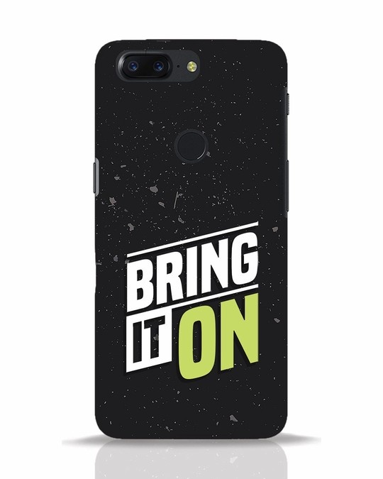 Shop Bring It On OnePlus 5T Mobile Cover-Front