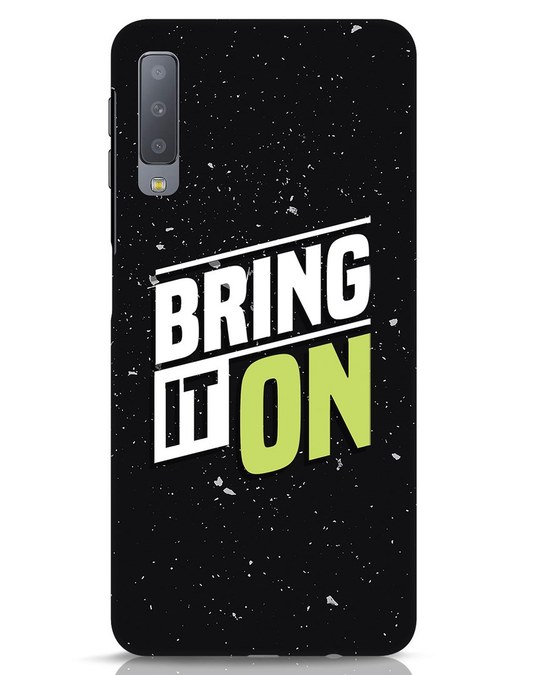 Shop Bring It On Samsung Galaxy A7 Mobile Cover-Front