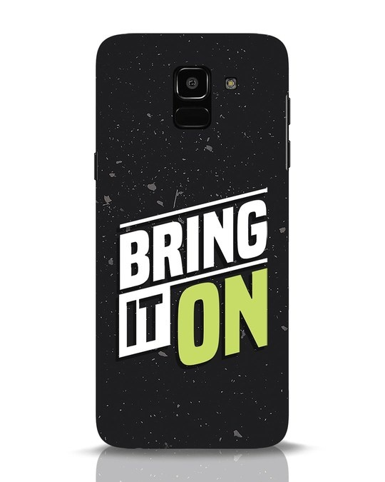 Shop Bring It On Samsung Galaxy J6 Mobile Cover-Front
