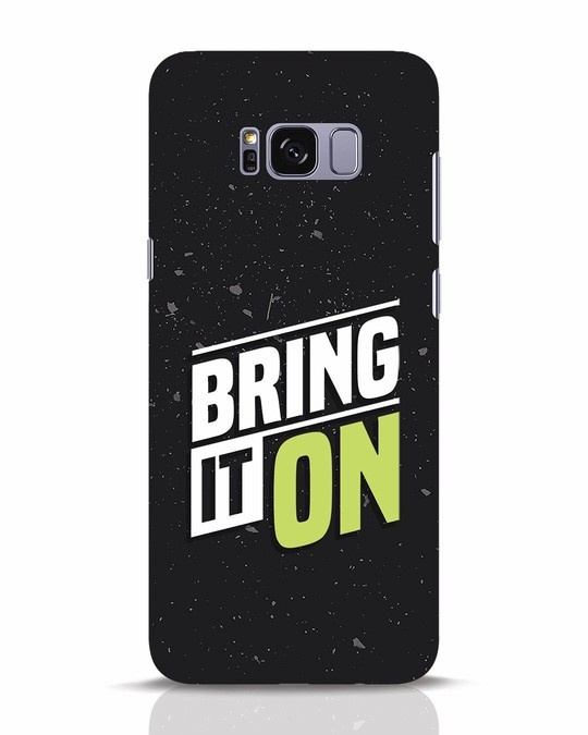 Shop Bring It On Samsung Galaxy S8 Plus Mobile Cover-Front
