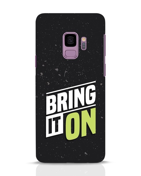 Shop Bring It On Samsung Galaxy S9 Mobile Cover-Front