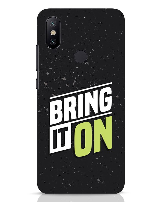 Shop Bring It On Xiaomi Mi A2 Mobile Cover-Front
