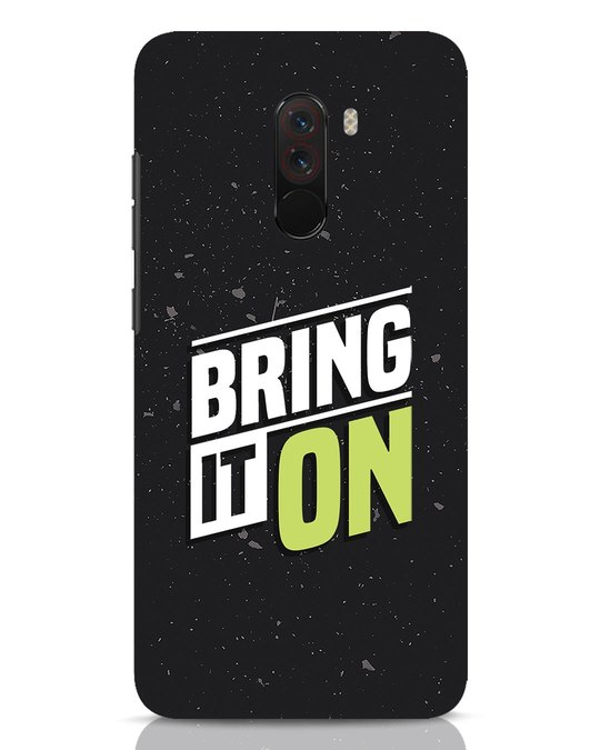 Shop Bring It On Xiaomi POCO F1 Mobile Cover-Front
