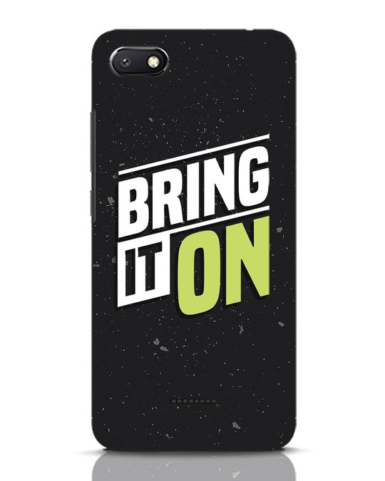 Shop Bring It On Xiaomi Redmi 6A Mobile Cover-Front