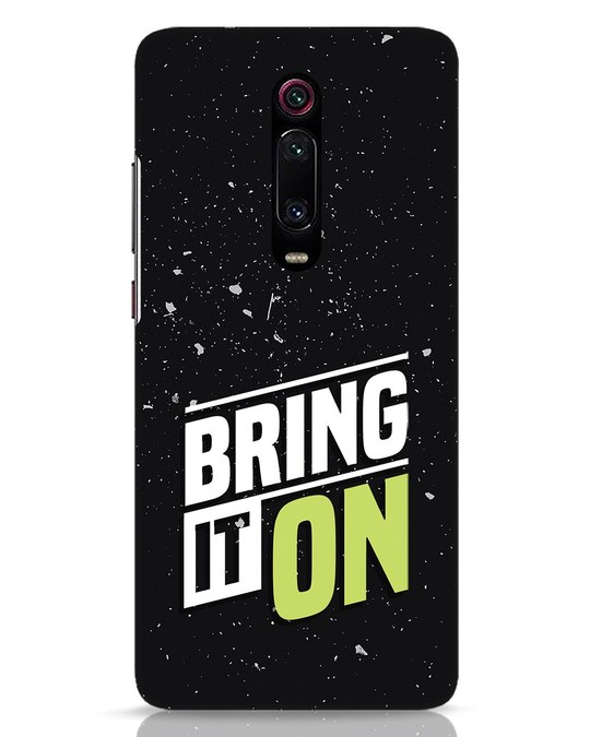 Shop Bring It On Xiaomi Redmi K20 Mobile Cover-Front
