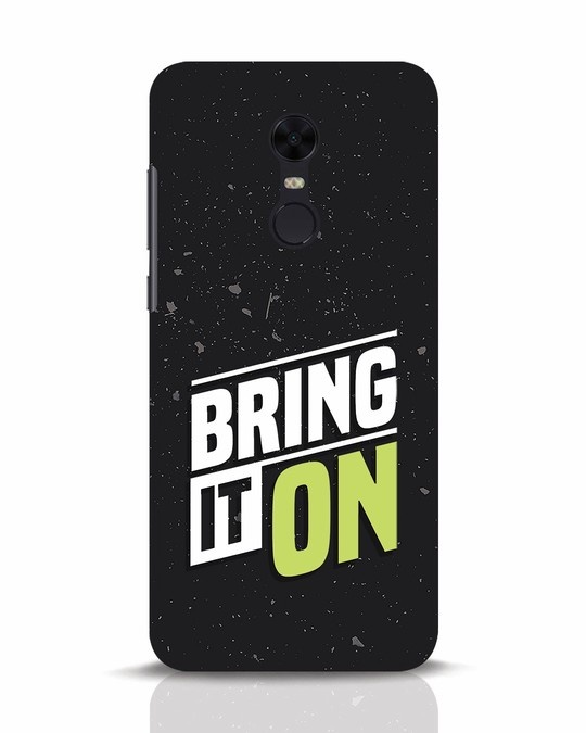 Shop Bring It On Xiaomi Redmi Note 5 Mobile Cover-Front