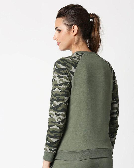 Shop Bring On The Revolution Raglan Fleece Sweatshirt-Design