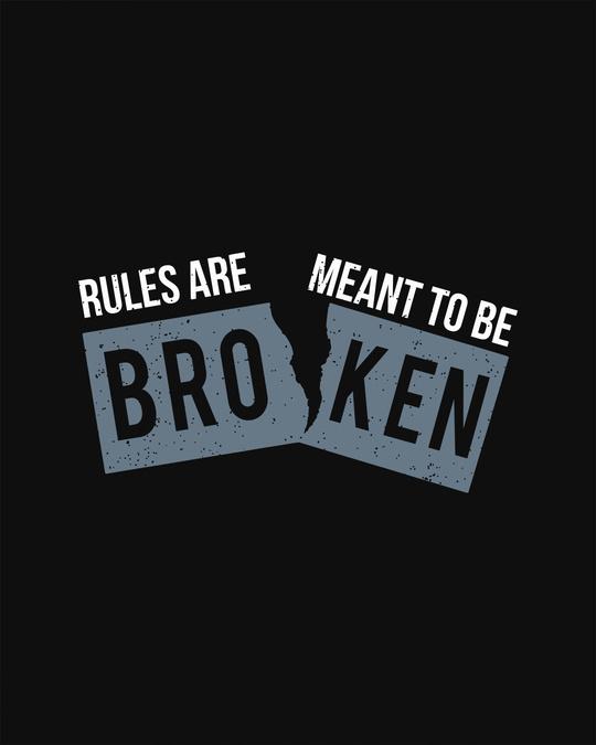 Shop Broken Rules Light Sweatshirt