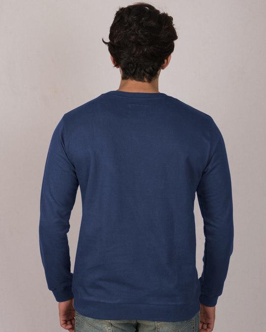 Shop Broken Stark Fleece Light Sweatshirt (AVEGL)-Back