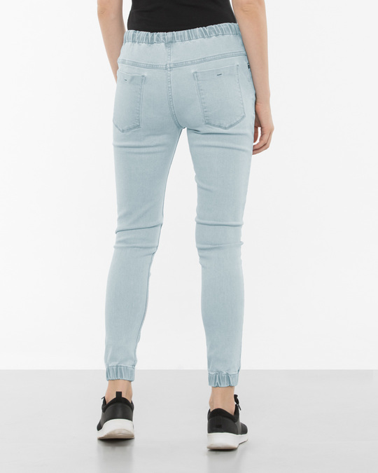 Shop Brooklyn Ripped Denim Joggers
