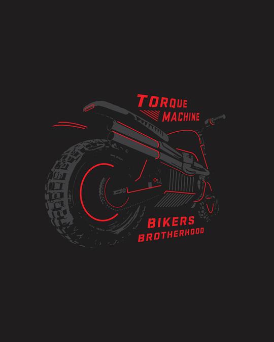 Shop Brotherhood Of Bikers Full Sleeve T-Shirt Black-Full