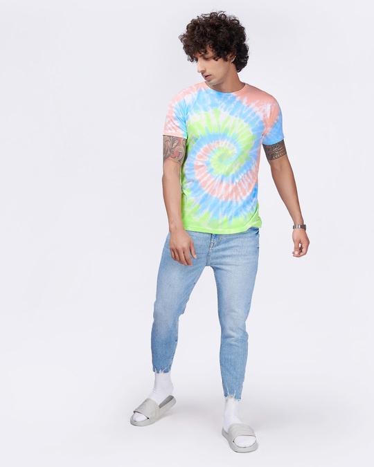 Shop Tie & Dye Waves Tee-Full