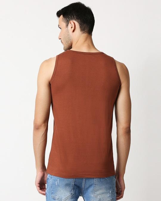 Shop Brown Vest-Full