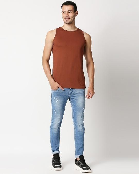 Shop Brown Vest
