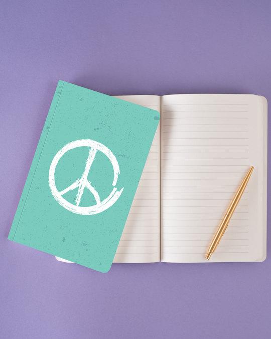 Shop Brush Peace Notebook-Design