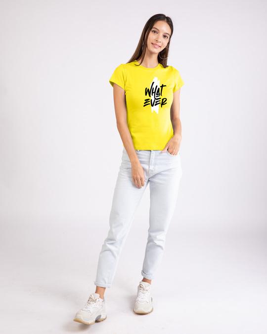 Shop Brush Stroke Whatever Half Sleeve T-Shirt-Design