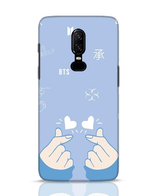 Shop Bts Doodle OnePlus 6 Mobile Cover-Front