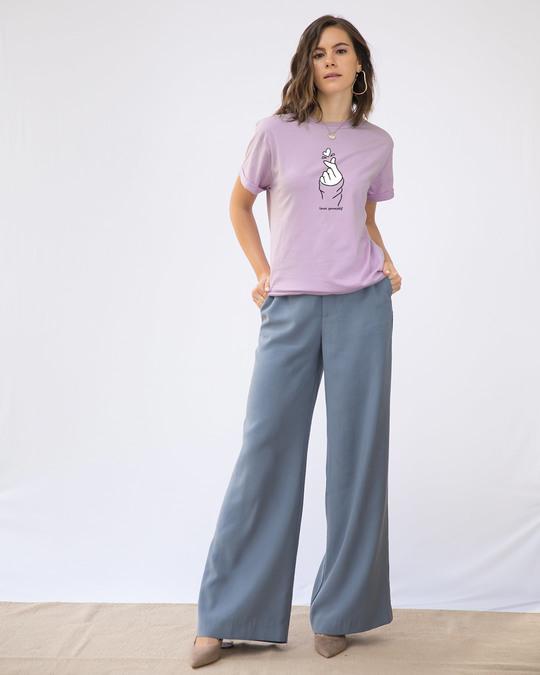 Shop Bts Love Yourself Boyfriend T-Shirt-Full