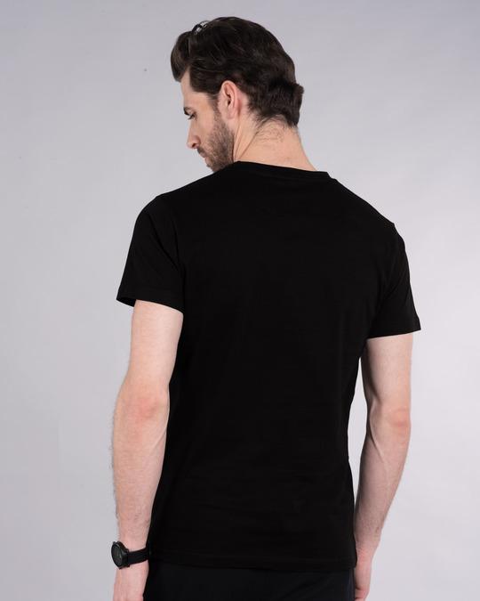 Shop Bugs thinking Half Sleeve T-Shirt (LTL)-Back