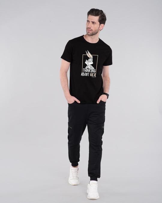 Shop Bugs thinking Half Sleeve T-Shirt (LTL)-Design