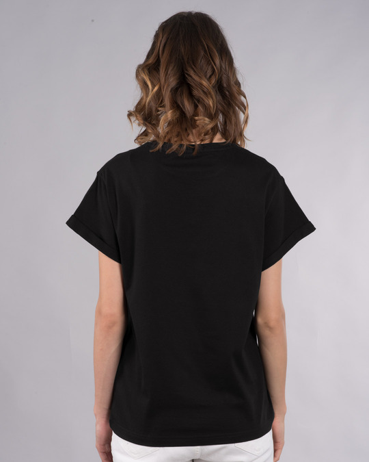 Shop Bulati Hai Shopping Boyfriend T-Shirt-Back