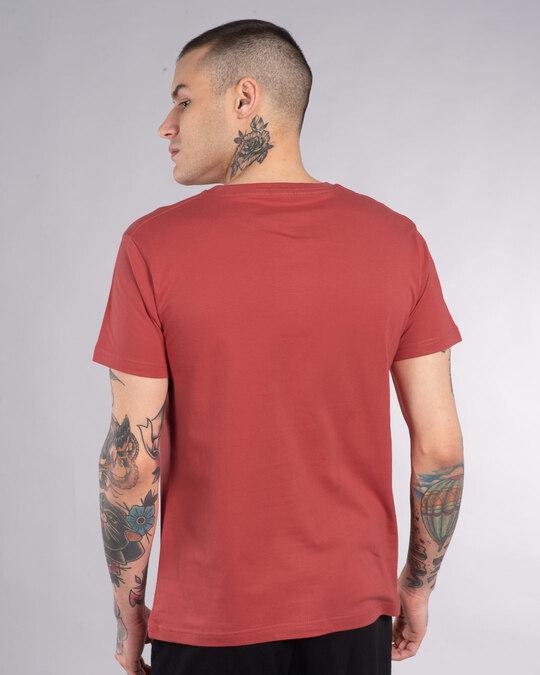 Shop Bulati Hai Warning Half Sleeve T-Shirt-Back
