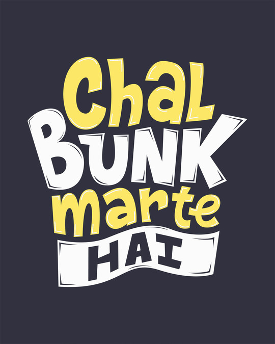 Shop Bunk Marte Hai Full Sleeve T-Shirt