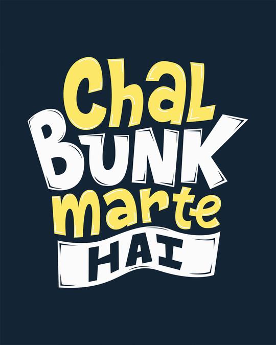 Shop Bunk Marte Hai Full Sleeve T-Shirt