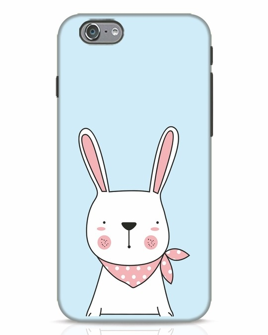 Shop Bunny Peep iPhone 6 Mobile Cover-Front