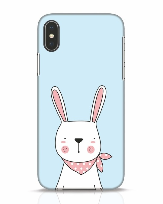 Shop Bunny Peep iPhone X Mobile Cover-Front