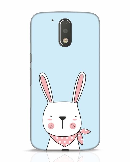 Shop Bunny Peep Moto G4 Plus Mobile Cover-Front