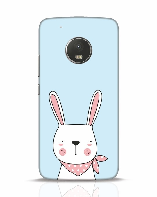 Shop Bunny Peep Moto G5 Plus Mobile Cover-Front