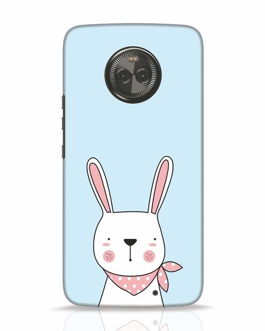 Shop Bunny Peep Moto X4 Mobile Cover-Front