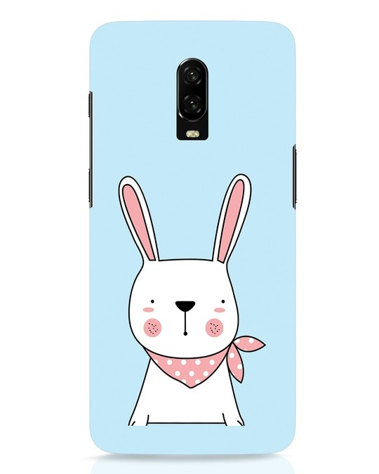 Shop Bunny Peep OnePlus 6T Mobile Cover-Front