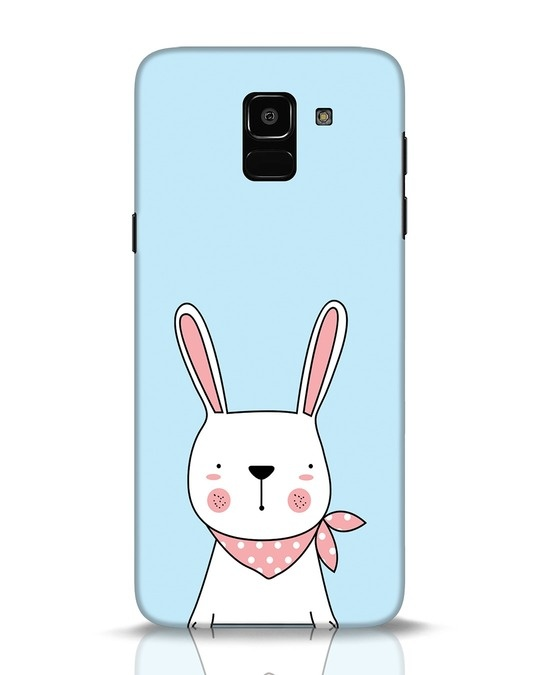 Shop Bunny Peep Samsung Galaxy J6 Mobile Cover-Front