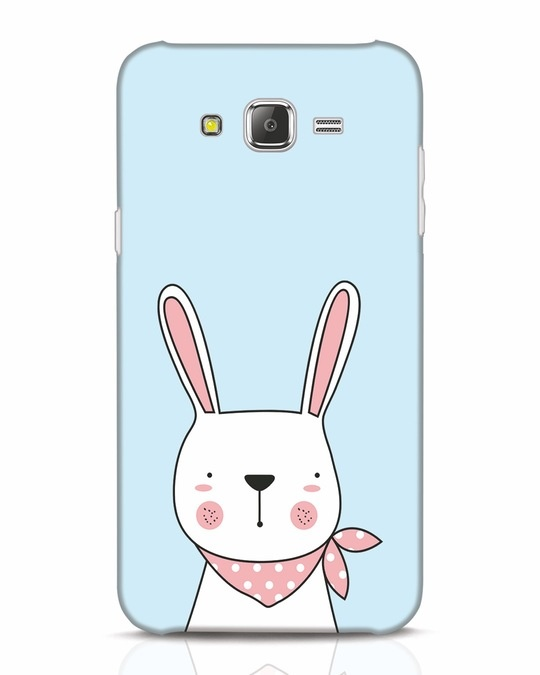 Shop Bunny Peep Samsung Galaxy J7 Mobile Cover-Front