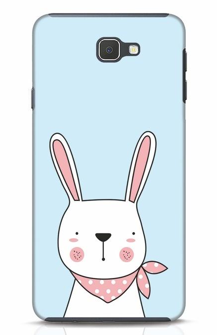 Shop Bunny Peep Samsung Galaxy J7 Prime Mobile Cover-Front