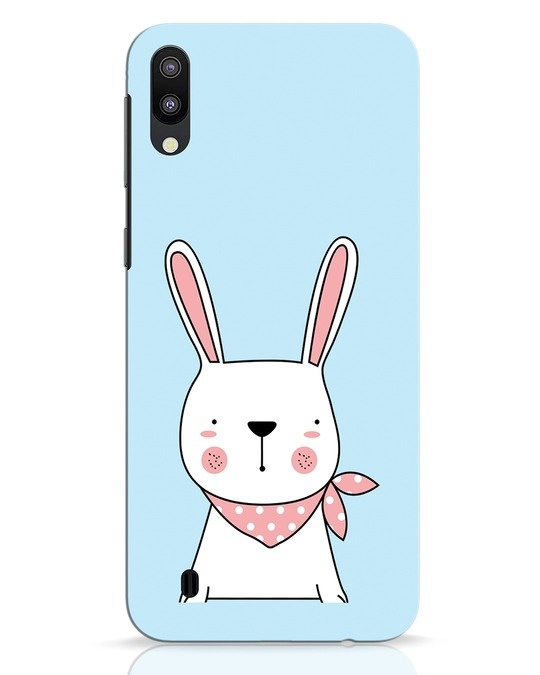 Shop Bunny Peep Samsung Galaxy M10 Mobile Cover-Front