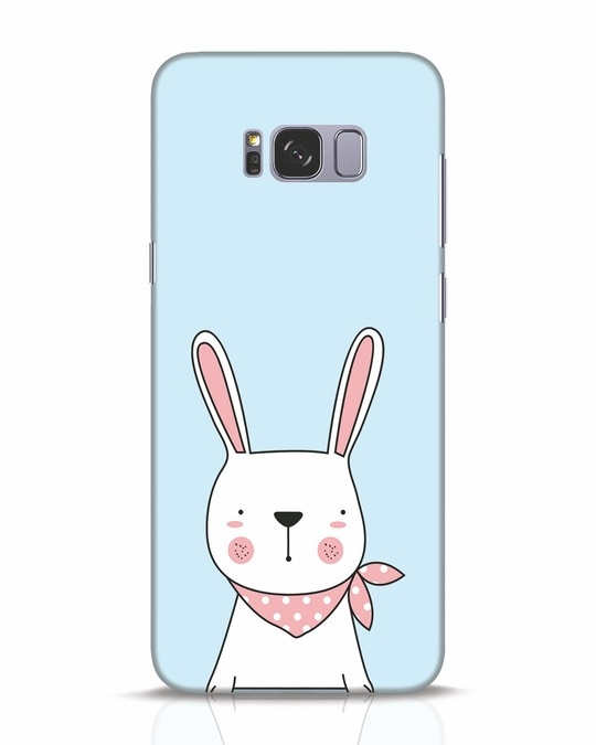 Shop Bunny Peep Samsung Galaxy S8 Plus Mobile Cover-Front