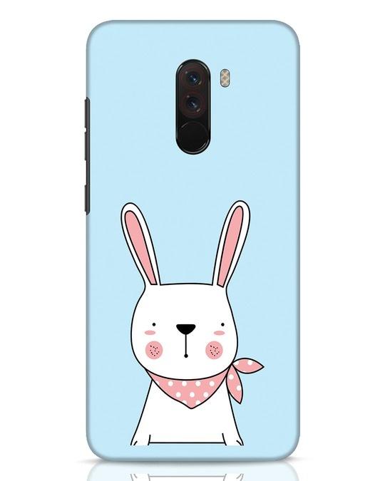 Shop Bunny Peep Xiaomi POCO F1 Mobile Cover-Front