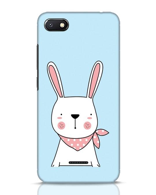 Shop Bunny Peep Xiaomi Redmi 6A Mobile Cover-Front