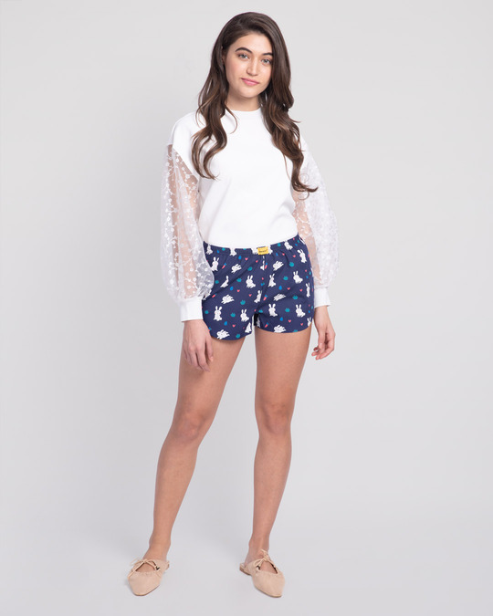 Shop Bunny Rabbit All Over Printed Boxer-Full