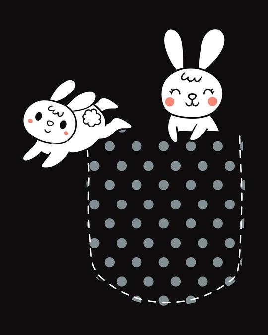Shop Bunny Rabbit Pocket Fleece Light Sweatshirt-Full