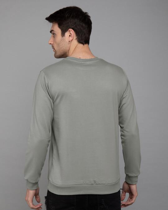 Shop Bunny Window Fleece Light Sweatshirt (LTL)-Back
