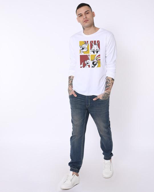 Shop Bunny Window Full Sleeve T-Shirt (LTL)-Full